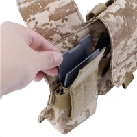 tactifans hunting tactical nylon kydex magazine pouch mag insert m4 5 56 ak 7 62 military army equipment gear paintball