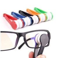 Brush Cleaning Tools Sun Glasses Eyeglass Microfiber Spectacles Cleaner Brush Cleaning Tool 10.8