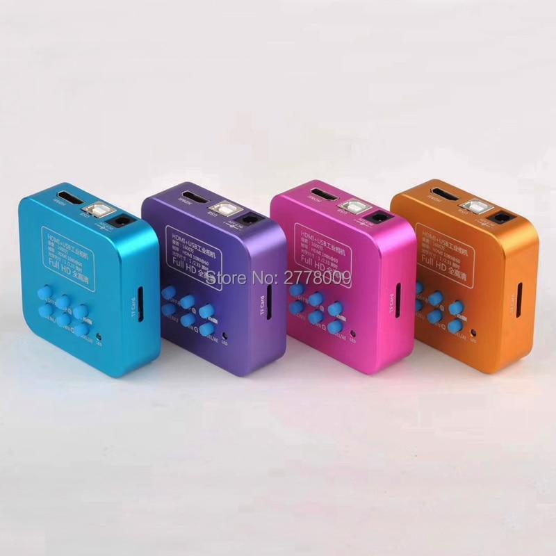 20MP كامل HD 1080P 60FPS HDMI USB HD الناتج صناعة C-جبل المجهر الفيديو كاميرا التحكم عن بعد الهاتف المحمول وحدة المعالجة المركزية إصلاح