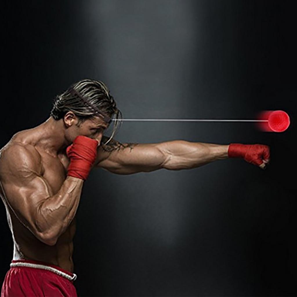 Alta qualidade 2019 novo boxe soco exercício luta bola reagir reflexo bola hott portátil equipamentos de fitness treinamento ball20