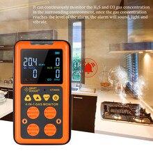 4 in 1 Digital Gas Detektor O2 H2S CO UEG Monitor Gas Analyzer air qualität Monitor Gas Tester Kohlenmonoxid meter