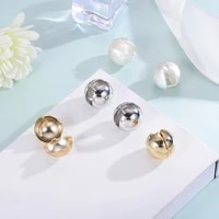 2020 summer metal women stud earrings simplicity statement korean earrings sweet ful party ear nails drop shipping