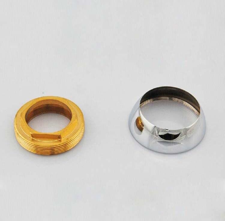 Glándula de carrete de cobre y taza decorativa para cartuchos para grifo