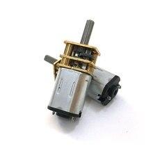 1 Pcs Ebowan N20 Micro Motor Electric Versnellingsbak Motor 3 V 6 V 12 V 15/30/50/60/100/200/300/500/600/1000 Rpm