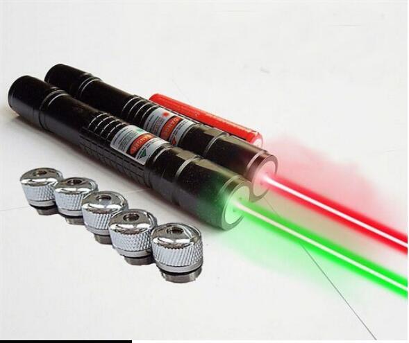 AAA Новый 500 Вт 5000000 м 532 нм фонарик мощный светло-зеленый/красный лазерная указка фокус Сжигание луча матч сжечь сигареты Охота