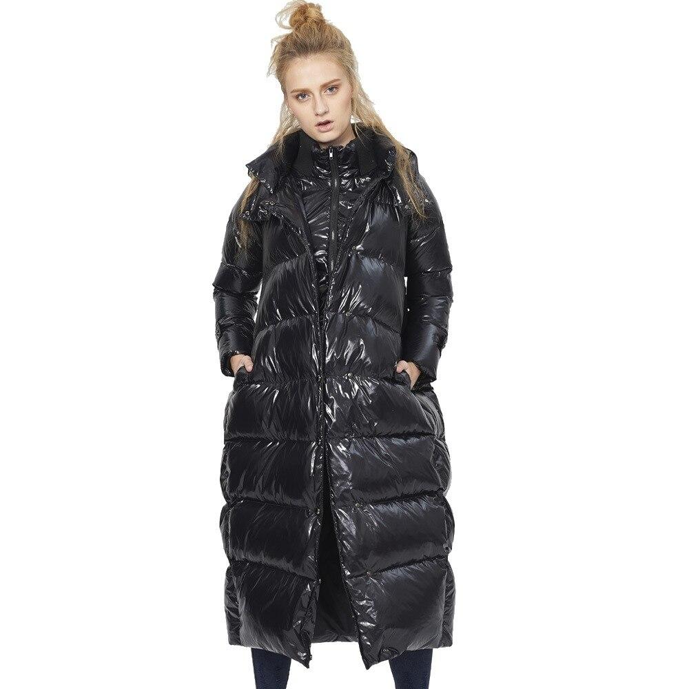 Пуховик женский, зимний, удлиненный, пм1018