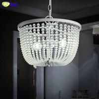 FUMAT Creative Art Glass Chandeliers Mordern Glass Chain Lights For Living Room Hotel Lights LED White Chandelier Lamps