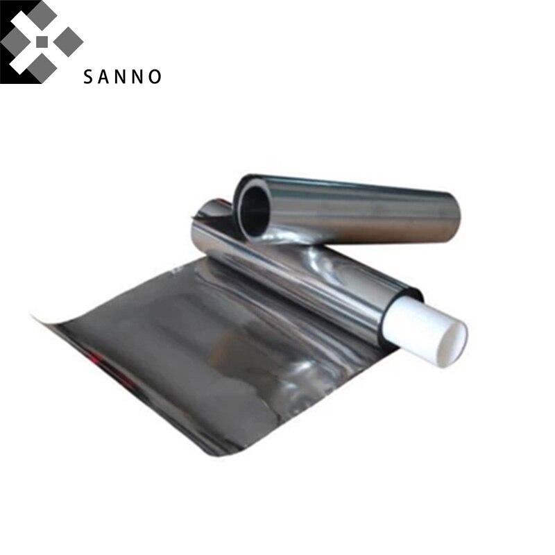 La lámina de metal de alta pureza 99.999% Pb se puede personalizar con una lámina de plomo de 0,1-1mm para investigación científica