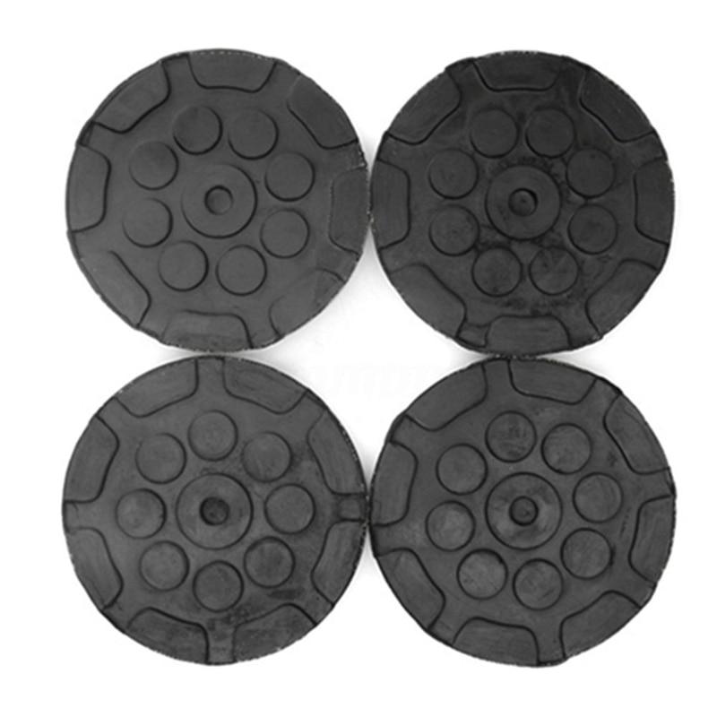 4 teile/los Gummi Jacking Pad Anti-slip Protector Boden für Heavy Duty Runde Lift Pads für Auto Reparatur