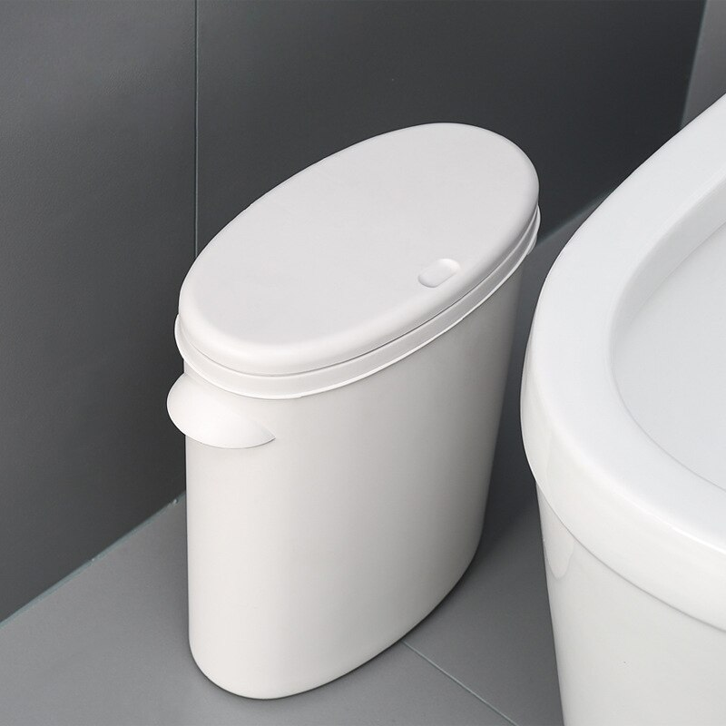 Resíduos bin pressionando wc banheiro caixote do lixo latas de lixo classificação pode definir banheiro balde de lixo dispensador dropshipping