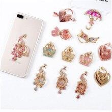 UVR support de support de téléphone portable en métal pour iPhone Xiaomi Huawei tous les anneau de doigt de téléphone support pour téléphone portable support pour téléphone diamant