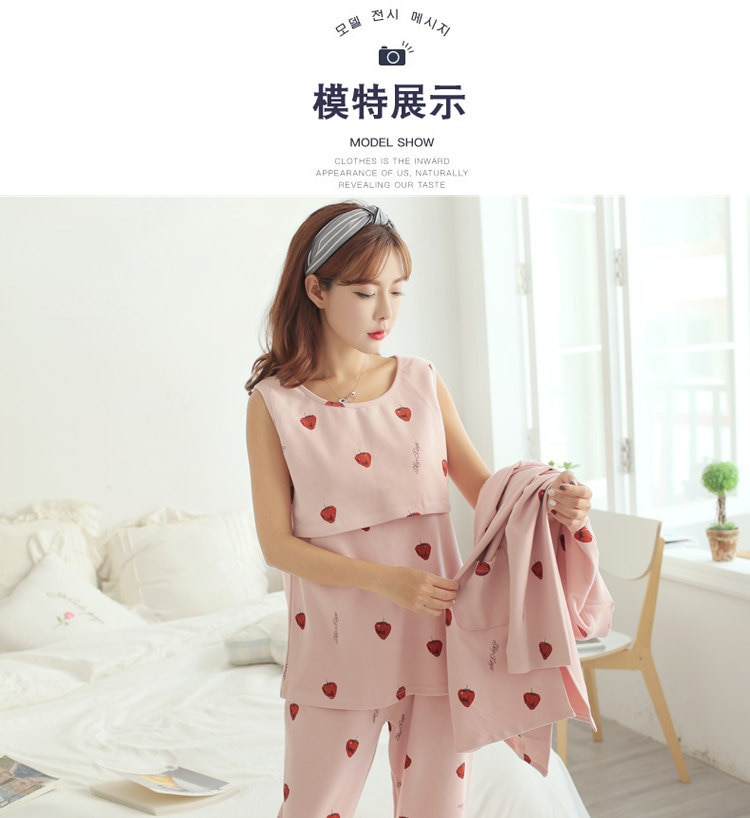 Autumn Spring Maternity Outfit Suits Breastfeeding Long Sleeved Sets Clothes for Pregnant Women New Nursing Sports Clothing enlarge