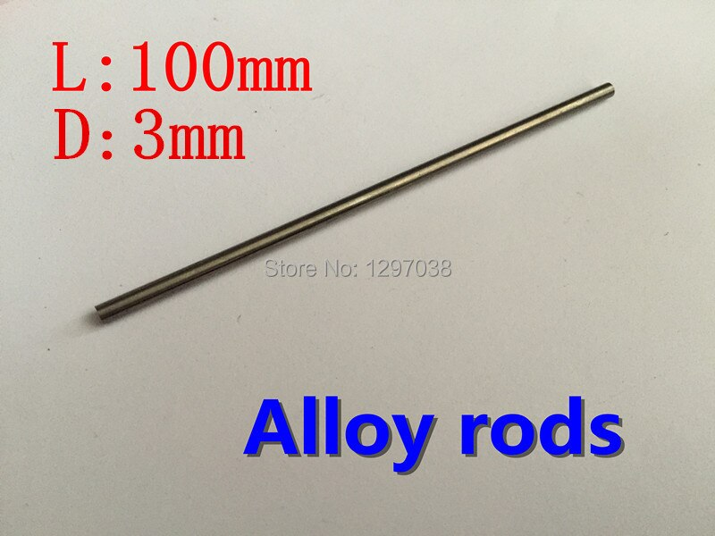 5pcs/lot 3mm diameter x 100mm length tungsten steel  circular rod Suitable for stamping