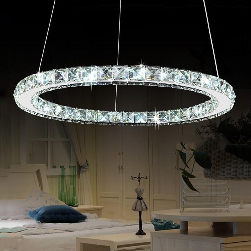 مصباح السقف LED الكريستالي للممر ، الممر ، الشرفة ، الدرج ، غرفة الطعام ، 15 وات