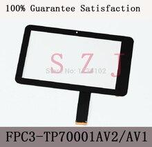 "(Ref FPC3-TP70001AV2/MH7001T-00FPC) 프리랜더 pd10 pd20 태블릿 pc 용 7 ""인치 lcd 터치 패널 lcd 터치 디지타이저 유리"