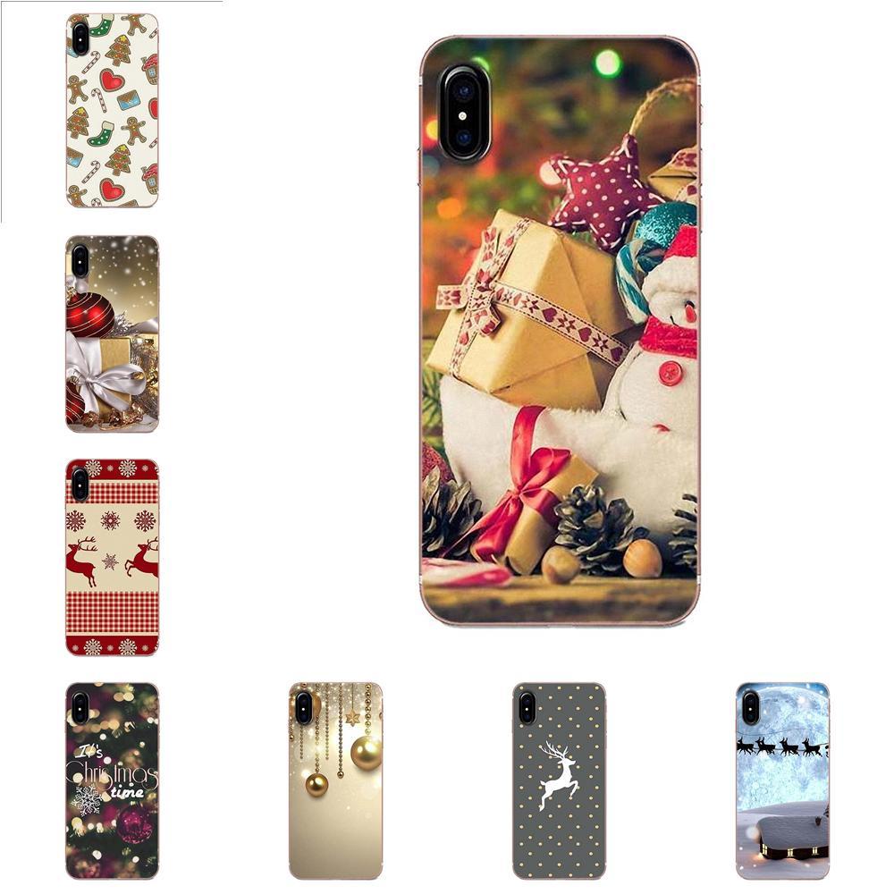 New Year Gifts Christmas For Xiaomi Mi3 Mi4 Mi4C Mi4i Mi5 Mi 5S 5X 6 6X A1 Max Mix 2 Note 3 4 TPU Print Phone Cover Case