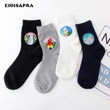 [EIOISAPRA] Kunst Retro Nette Meias Vogel Vintage Socken Frauen Kawaii Lustige Socken Cartoon Harajuku Calcetines Divertidos Japan Mujer