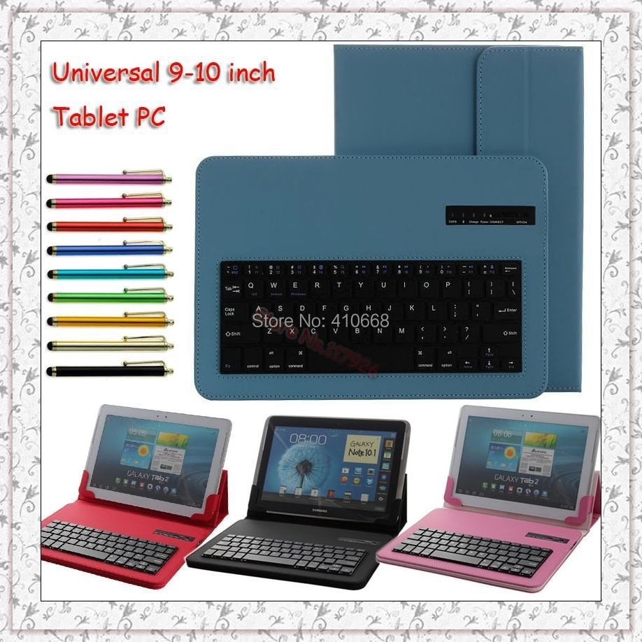 Funda de teclado Bluetooth para HP ElitePad 900 G1 para HP Omni 10 HP slate 10 HD 10,1 tablet funda + bolígrafo