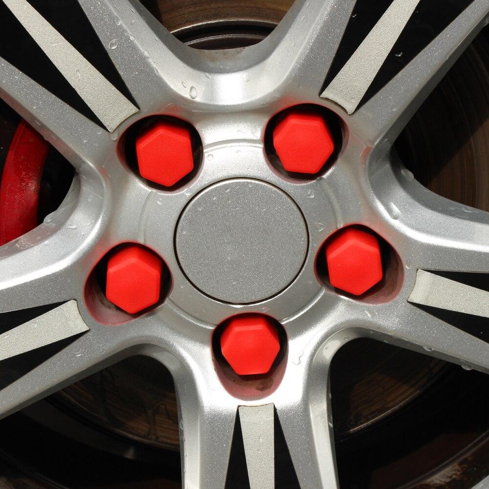 De silicona tapacubos de coche tornillo tuerca de la cubierta tapas para Mazda CX-5 CX-7 CX-3 CX-9 mazda3 mazda6 mazda2 CX-5 ATENZA MX-5 RX-8 Axela