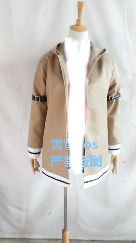 Steins Gate Косплей Костюм курису макисе только куртка