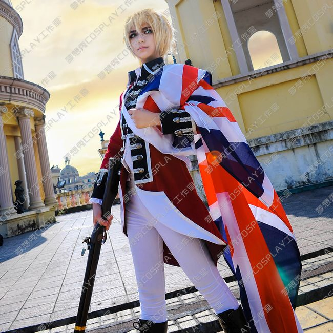 Аниме APH Hetalia, английские революционные войны, костюмы для косплея, оси, силы, Англия, костюмы для косплея, артер Киркланд