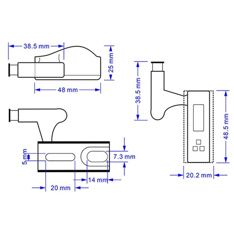 10Pcs LED Smart Touch Induction Cabinet Light Cupboard Inner Hinge Lamp Sensor Light Night Light for Closet Wardrobe
