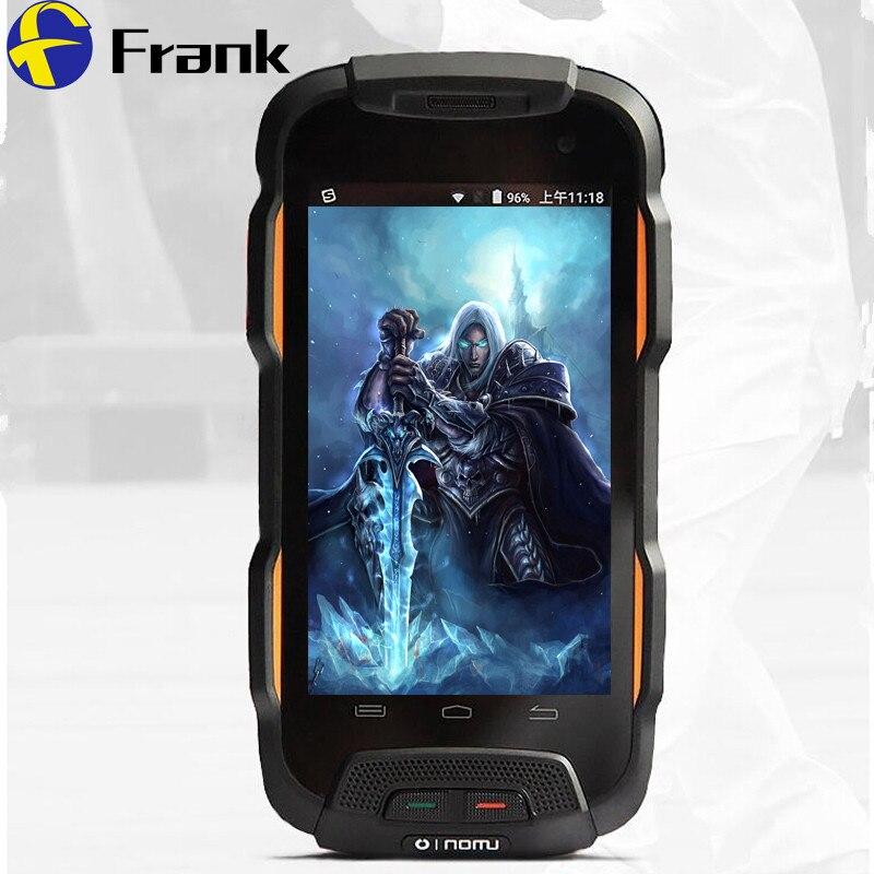 V9T teléfono impermeable RAM 2GB ROM 16GB 8MP Cámara Android5.1 5000mAH 4,0 pulgadas Dual Sim robusto SmartPhone a prueba de golpes a prueba de polvo