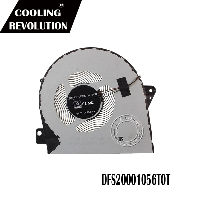 Nuevo ventilador de refrigeración de CPU para DELL Latitude 5580 DP/N 03NDV7 3NDV7 EG50060S1-C310-S9A DFS2001056TOT