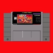Combat Final 3 (FF3) 16 bits Big Gray Game Card pour USA NTSC Game Player