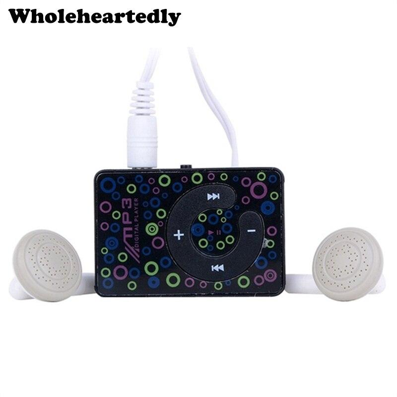 New Arrival Portable Mini Clip USB MP3 Music Player TF Card Slot with MP3 + Mini USB Cable Hot Sale