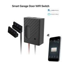 Commutateur wifi intelligent  ouvre-porte de Garage Compatible avec lapplication telecommande commande vocale par Alexa google home Ewelink