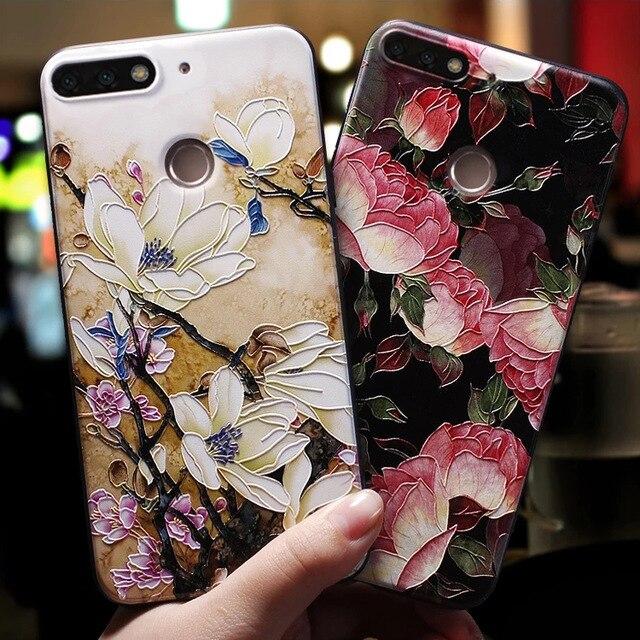 Мягкий 3D чехол для Huawei P20 P30 P8 P9 P10 Mate 10 20 Lite Pro Nova 3 3i Capa для Huawei Honor 8X 6A 7A Pro 9 Lite 10 Case