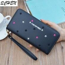 Women wallet long Purses Tassel Fashion Coin Purse Card Holder Female High Quality Clutch Money Bag PU Leather Wallets 450