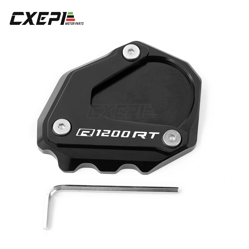AliExpress - For BMW R1200RT R1200 RT R 1200RT 2004-2013 Motorcycle CNC Kickstand Foot Side Stand Extension Pad Support Plate Enlarge Stand