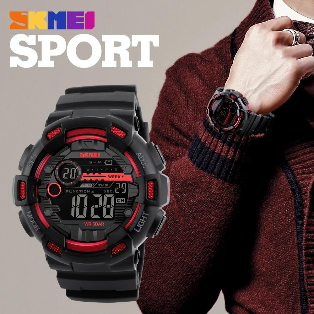 Mens Sports Watches Top Famous Luxury Brand Digital Watch Waterproof Military Electronic Wristwatch Male Montre Homme Erkek Saat