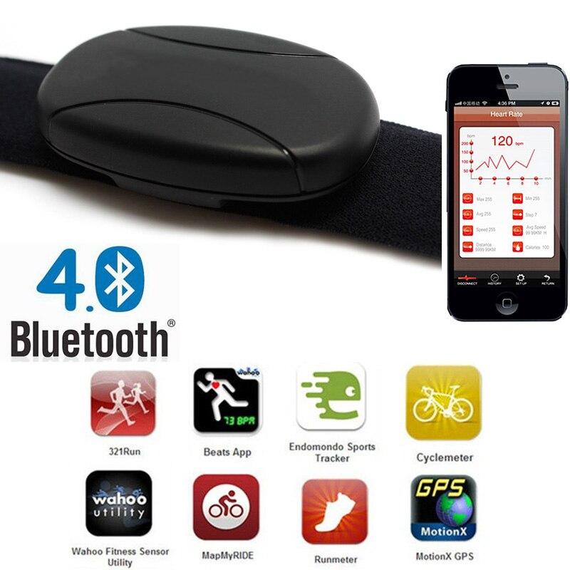 Herz Rate Meter Bluetooth Puls Sensor Cardio Sport Brustgurt Gürtel Herz Rate Monitor Polar Stil Herz Rate Meter für sport