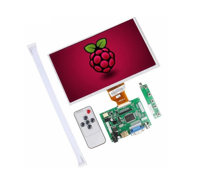 Accesorio de mechones Banana Pi M3/Pro pantalla LCD Monitor LCD TFT AT090TN10 + Kit HDMI VGA entrada Placa de controlador