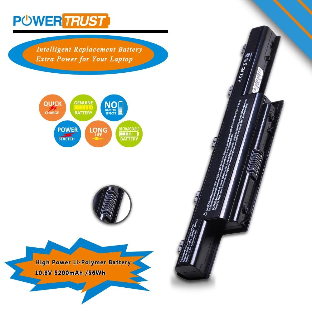 PowerTrust 1x 6 ячеек Аккумулятор для ноутбука Acer Aspire 4738 4741 4250 4349 4333 4350 4551 4560 4733Z 4739 5250 5253 5336 5551 5750