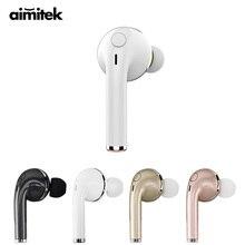 Aimitek Bluetooth Earphone Wireless Steroe Headset Sport Music Earbud Handsfree with Mic for iPhone Xiaomi Samsung Mobile Phones