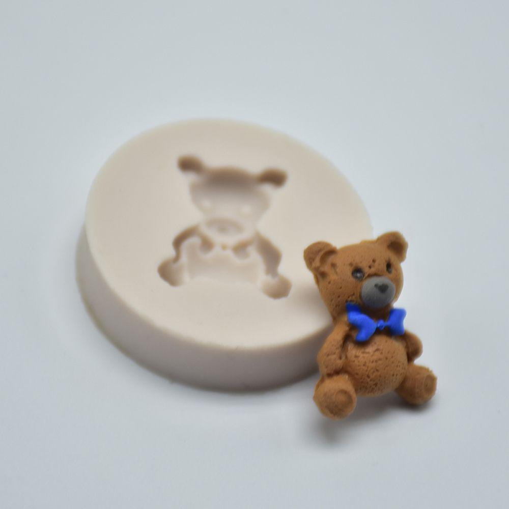 Bär Silikon Form 1PC Mini Fondant Form Kuchen Dekorieren Werkzeuge Schokolade Gumpaste Form schokolade seife form