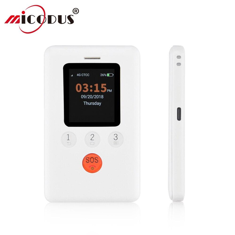 GK310 Mini GPS rastreador niños 4G WiFi pantalla táctil SOS alarma localizador GPS GPRS apagado remoto dos formas de conversación alarma de batería baja