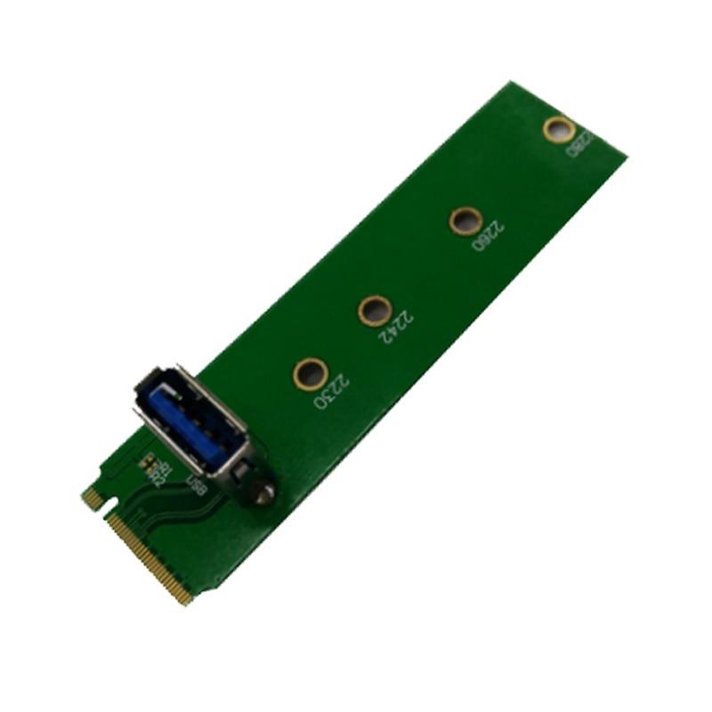 Os Recém-chegados Máquina de Mineração Special-Purpose M.2 NGFF para PCI-E Adaptador de Canal USB3.0 M2 PCIe para USB 3.0 De Riser cartão para BTC Mineiro