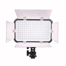 Nuevo Godox LED170 II regulable 5500-6500K foto vídeo lámpara de luz para lámpara de luz de cámara de vídeo videocámara fotografía