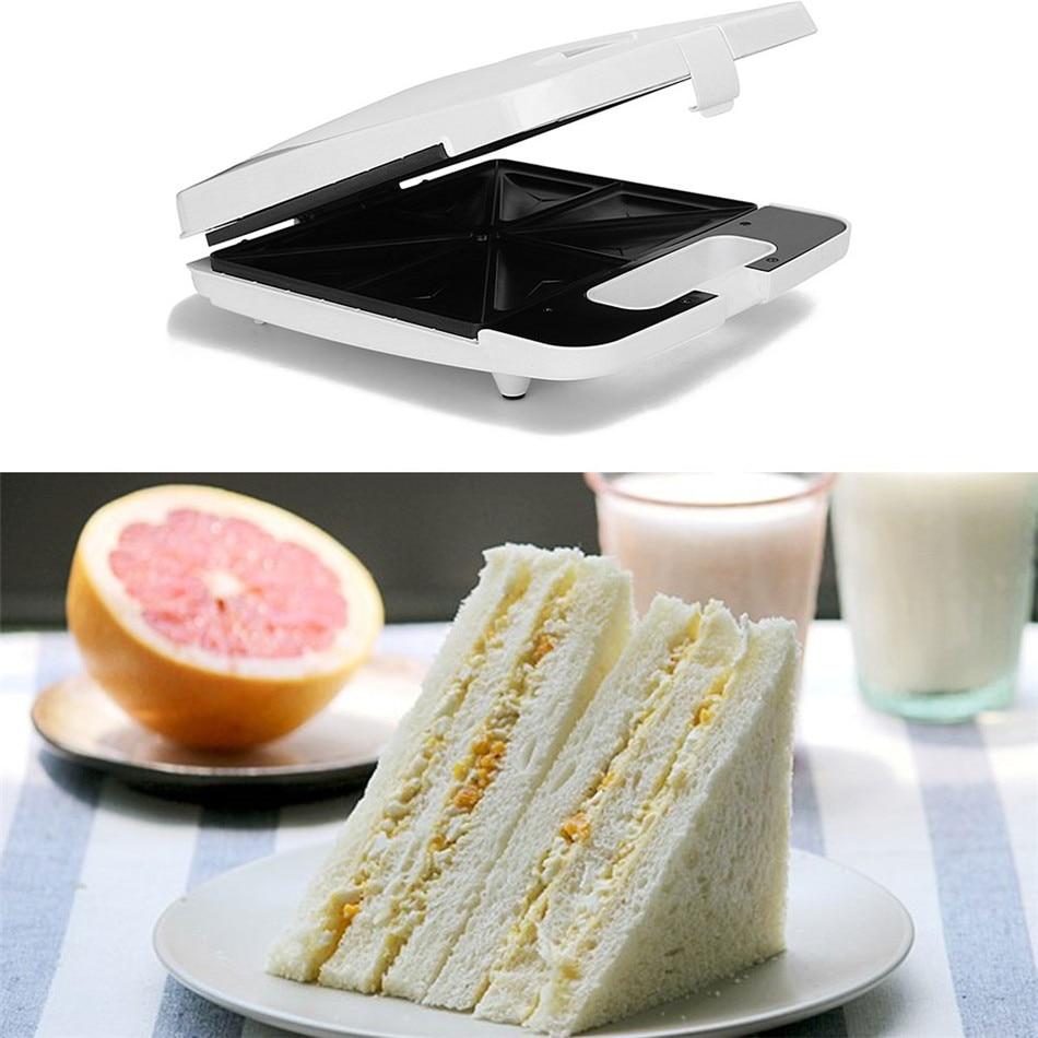 Máquina eléctrica para hacer waffles y sándwiches, parrilla para barbacoa, tostadora, máquina de desayuno, horno de barbacoa, máquina para hacer pan, multicocción, parrilla de cocina
