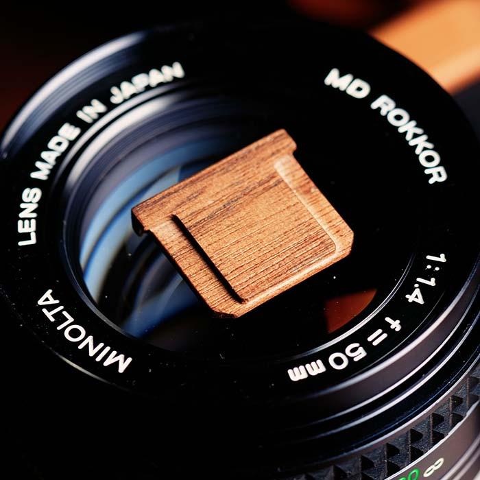 Madeira de madeira Tampa Da Sapata Para Fuji Fujifilm XT20 XT20