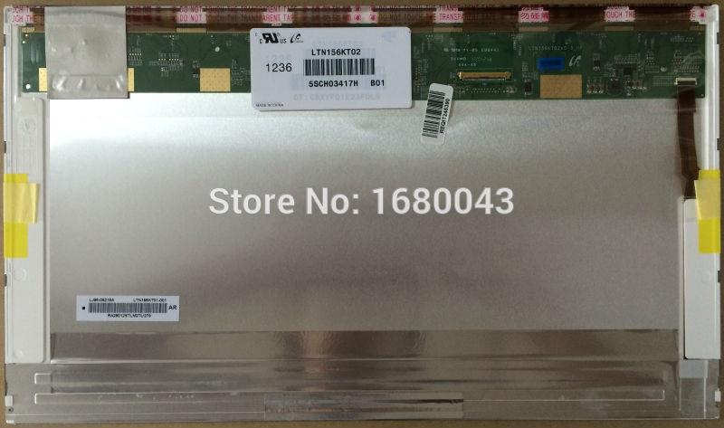 "LTN156KT02 B01 fit LTN156KT04 LP156WD1 TLA1 TLB1 B156RW01 V.0 V.1 15.6 ""WXGA + HD 1600*900 laptop Tela LED LCD 40PIN"