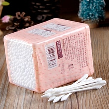 Women 200pcs/lot Health Make Up q-tips Cotton Swabs Cosmetic Beauty Swabs Ear Clean Jewelry Pointed