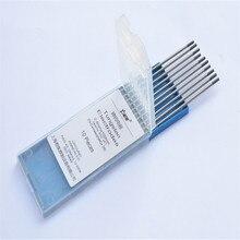 Spécial 0.5*175MM 10 pièces pointe grise électrode de tungstène WC20 cérium tungstène pour torche de soudage tig argon machine de soudage à larc