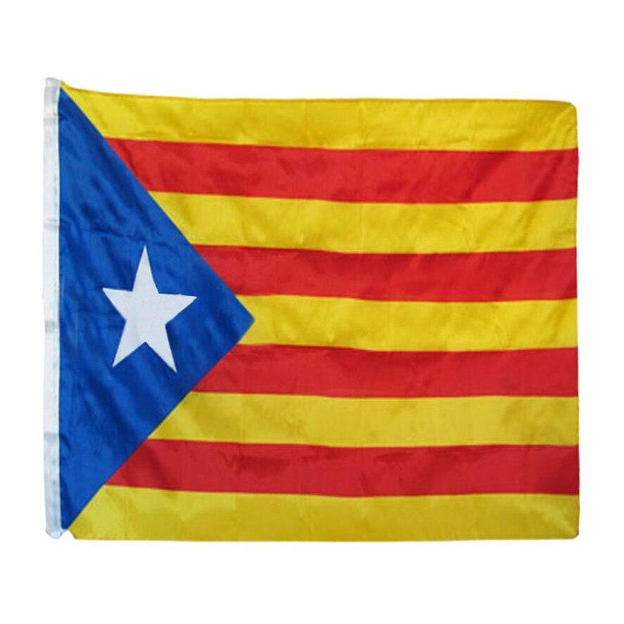 Neue Katalonien Flagge 90x150 CM 1 PC Welt Land Nationalen Tag Polyester Katalonien Flagge Ornament Dekor Hause Im Freien 0509 #30