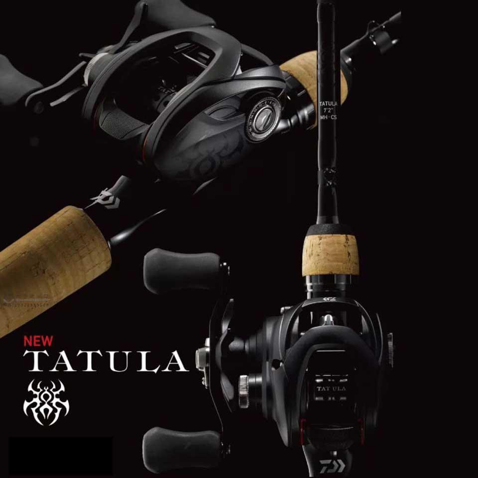DAIWA TATULA 100/150/200 Baitcasting reel 6.3:1/7.1:1/8.1:1 5-6KG Power TWS system 7BB+1RB CORROSION RESISTANT BALL BEARINGS